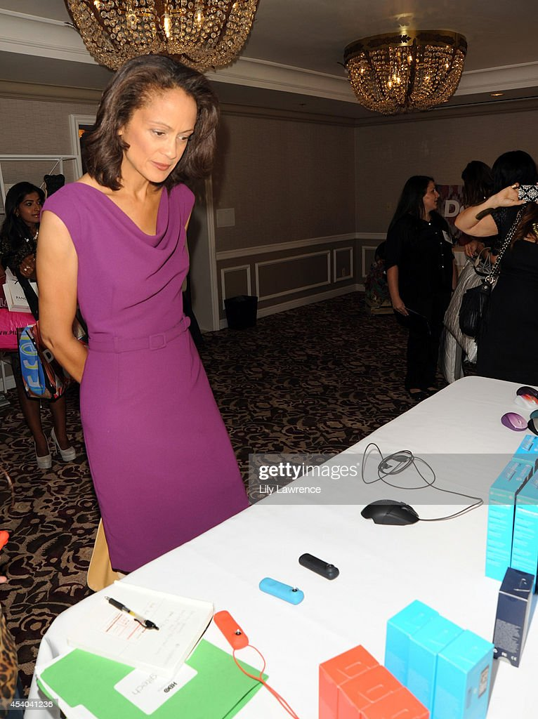 Actress Anne-Marie Johnson attends the HBO Luxury Lounge featuring PANDORA at Four Seasons Hotel Los Angeles at Beverly Hills on August 23, 2014 in Beverly Hills, California.