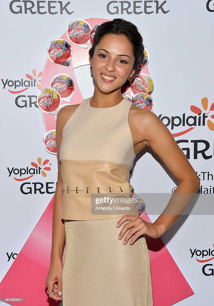 Actress Annet Mahendru attends Variety & Women In Film Pre-Emmy Event presented by Yoplait Greek at Scarpetta on September 20, 2013 in Beverly Hills, California.