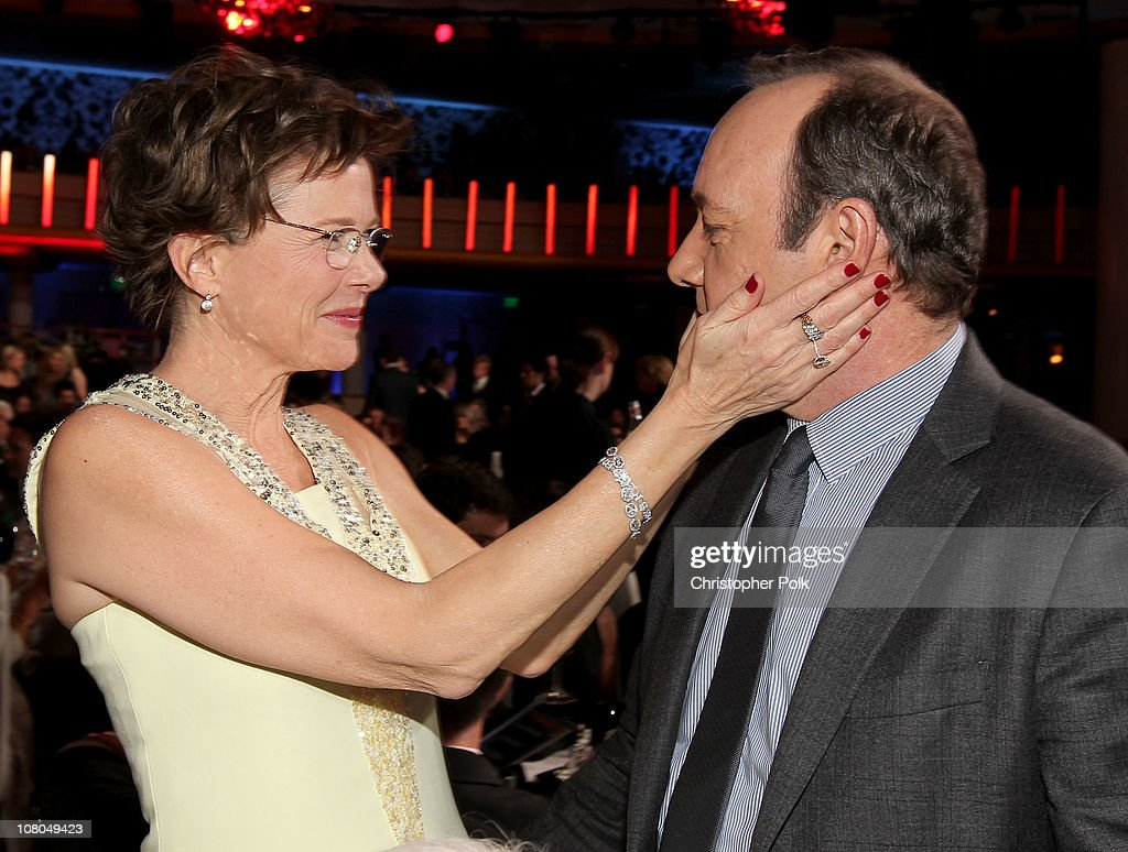 Actress Annette Bening and Actor Kevin Spacey during the 16th annual Critics' Choice Movie Awards at the Hollywood Palladium on January 14 2011 in...