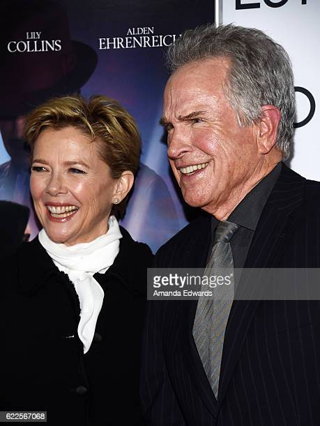 Actress Annette Bening and actor Warren Beatty arrive at the AFI FEST 2016 Presented by Audi Opening Night Premiere of 20th Century Fox's 'Rules...