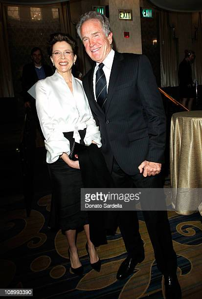 Actress Annette Bening and actor/filmmaker Warren Beatty arrive at the 14th annual Unforgettable Evening benefiting EIF's WCRF held at Beverly...