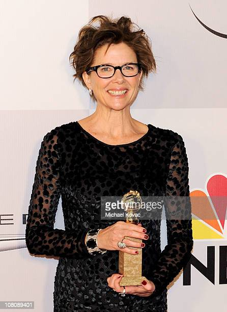 Actress Annette Bening arrives at NBC Universal's 68th Annual Golden Globes After Party at The Beverly Hilton Hotel on January 16 2011 in Beverly...