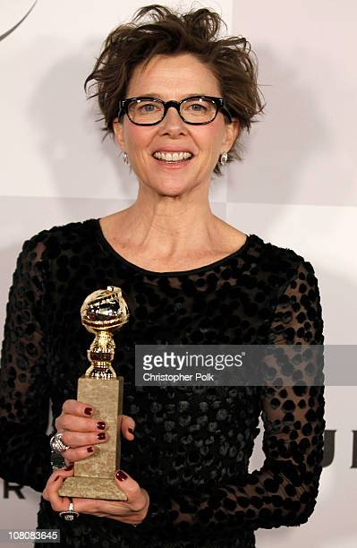 Actress Annette Bening arrives at NBCUniversal/Focus Features Golden Globes Viewing and After Party sponsored by Chrysler held at The Beverly Hilton...