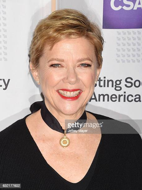 Actress Annette Bening arrives at the 2017 Annual Artios Awards at The Beverly Hilton Hotel on January 19 2017 in Beverly Hills California