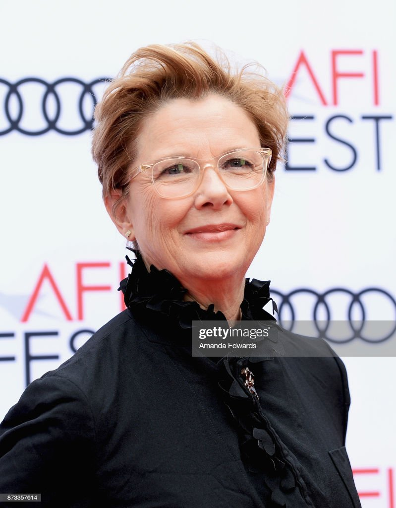 Actress Annette Bening arrives at the AFI FEST 2017 Presented By Audi screening of 'Film Stars Don't Die In Liverpool' at the TCL Chinese Theatre on November 12, 2017 in Hollywood, California.