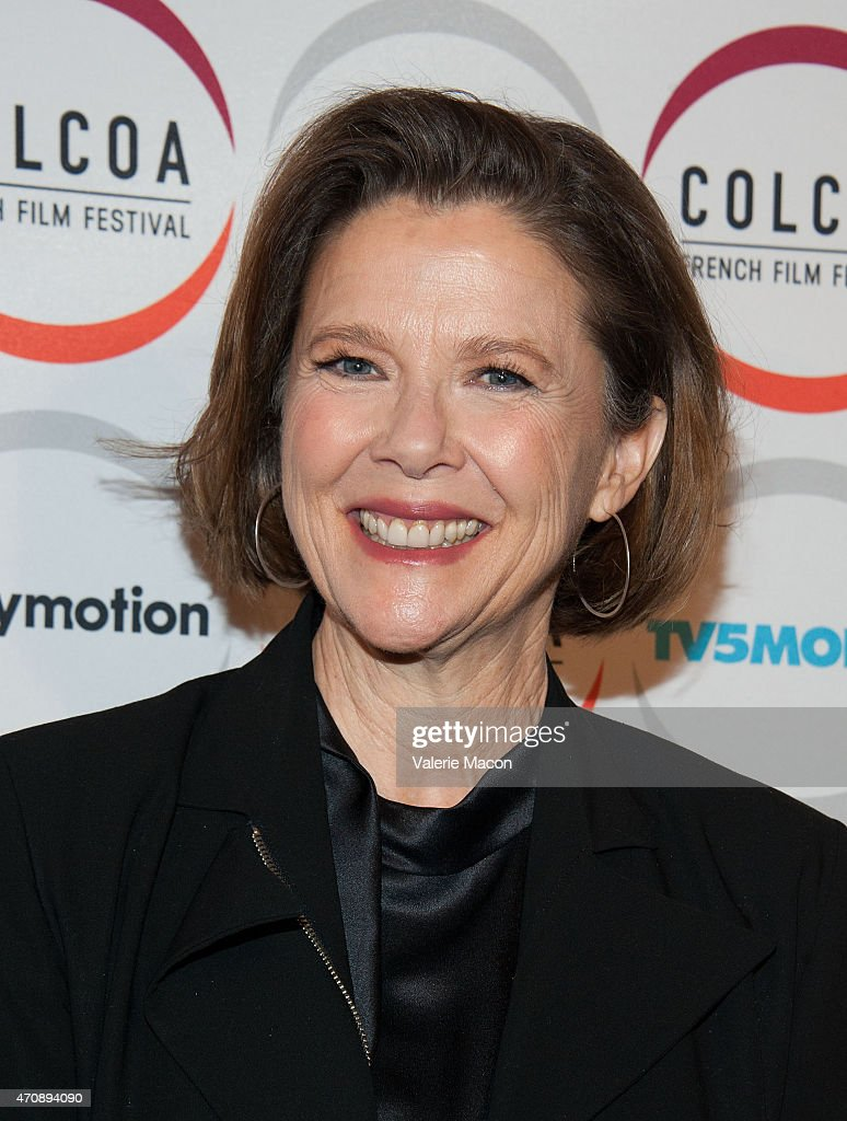 Actress <a gi-track='captionPersonalityLinkClicked' href=/galleries/search?phrase=Annette+Bening&family=editorial&specificpeople=202568 ng-click='$event.stopPropagation()'>Annette Bening</a> arrives at the COLCOA French Film Festival Premiere Of 'The Search' at Directors Guild Of America on April 23, 2015 in Los Angeles, California.