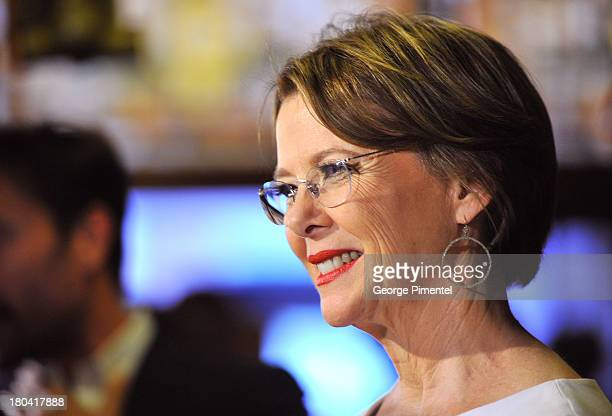 Actress Annette Bening arrives at 'The Face Of Love' Premiere during the 2013 Toronto International Film Festivalat The Elgin on September 12 2013 in...