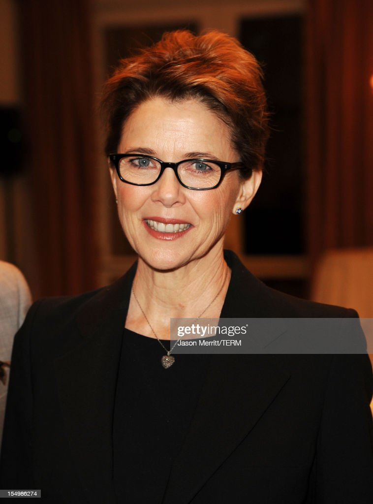 Actress Annette Bening attends the 2012 Courage in Journalism Awards hosted by the International Women's Media Foundation held at the Beverly Hills Hotel on October 29, 2012 in Beverly Hills, California.