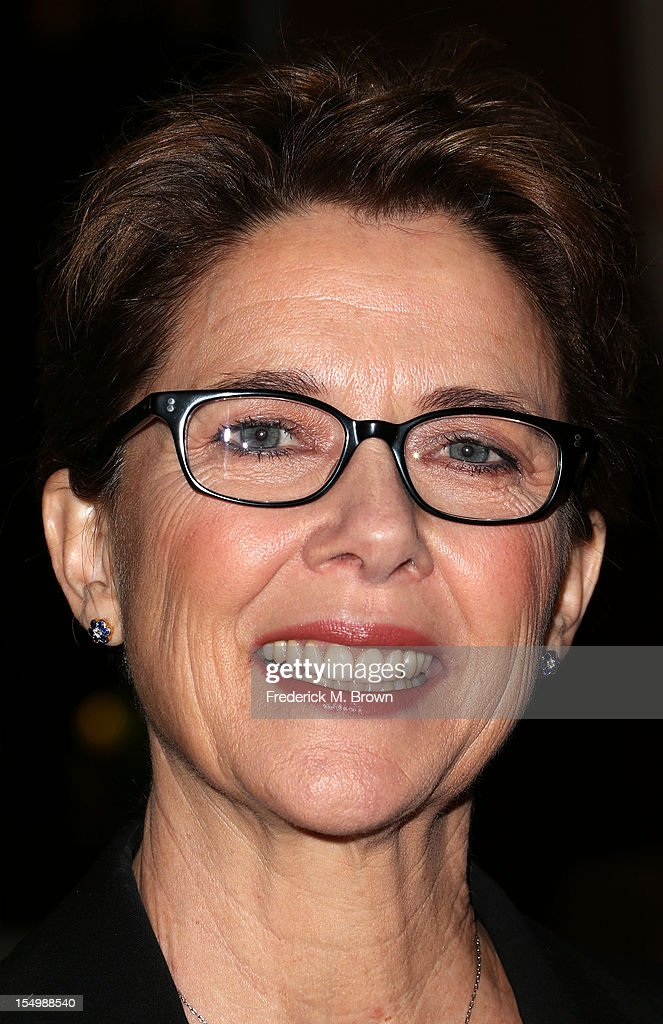 Actress Annette Bening attends the 2012 International Women's Media Foundation's Courage In Journalism Awards at The Beverly Hills Hotel on October 29, 2012 in Beverly Hills, California.