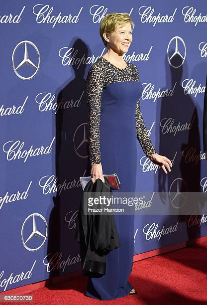 Actress Annette Bening attends the 28th Annual Palm Springs International Film Festival Film Awards Gala at the Palm Springs Convention Center on...