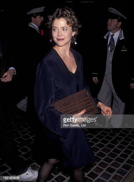 Actress Annette Bening attends the 48th Annual Golden Globe Awards Rehearsals on January 18 1991 at Beverly Hilton Hotel in Beverly Hills California