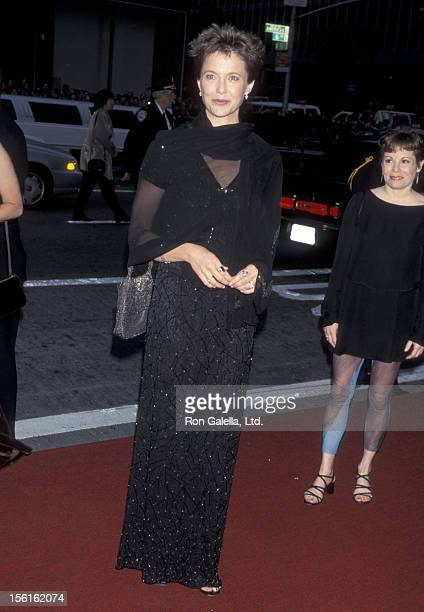 Actress Annette Bening attends the 52nd Annual Tony Awards on June 7 1998 at Radio City Music Hall in New York City