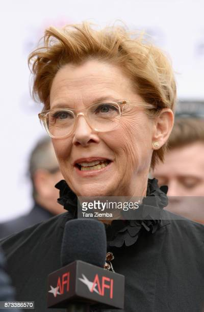 Actress Annette Bening attends the AFI FEST 2017 Presented By Audi screening of 'Film Stars Don't Die In Liverpool' at TCL Chinese Theatre on...