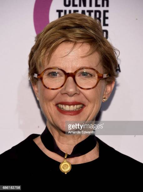 Actress Annette Bening attends the Center Theatre Group's 50th Anniversary Celebration at the Ahmanson Theatre on May 20 2017 in Los Angeles...