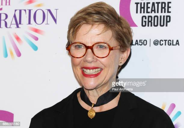 Actress Annette Bening attends the Center Theatre Group's 50th Anniversary Celebration at Ahmanson Theatre on May 20 2017 in Los Angeles California