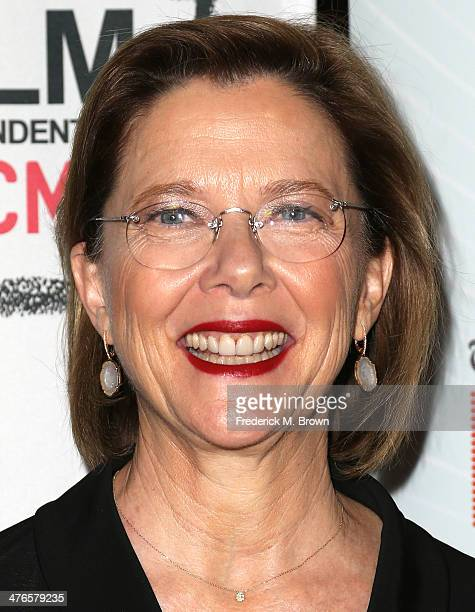 Actress Annette Bening attends the Screening of IFC Films' 'The Face of Love' at LACMA on March 3 2014 in Los Angeles California