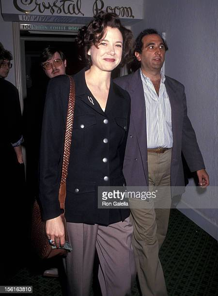 Actress Annette Bening attends the Sixth Annual Independent Spirit Awards on March 23 1991 at Beverly Hills Hotel in Beverly Hills California