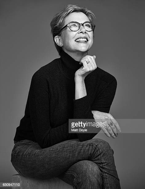 Actress Annette Bening poses for Back Stage on October 11 in New York City