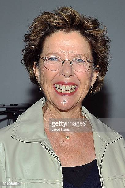 Actress Annette Benning arrives at AMPAS Presents 'Perfect Choice The Art of the Casting Director' at Samuel Goldwyn Theater on April 13 2016 in...