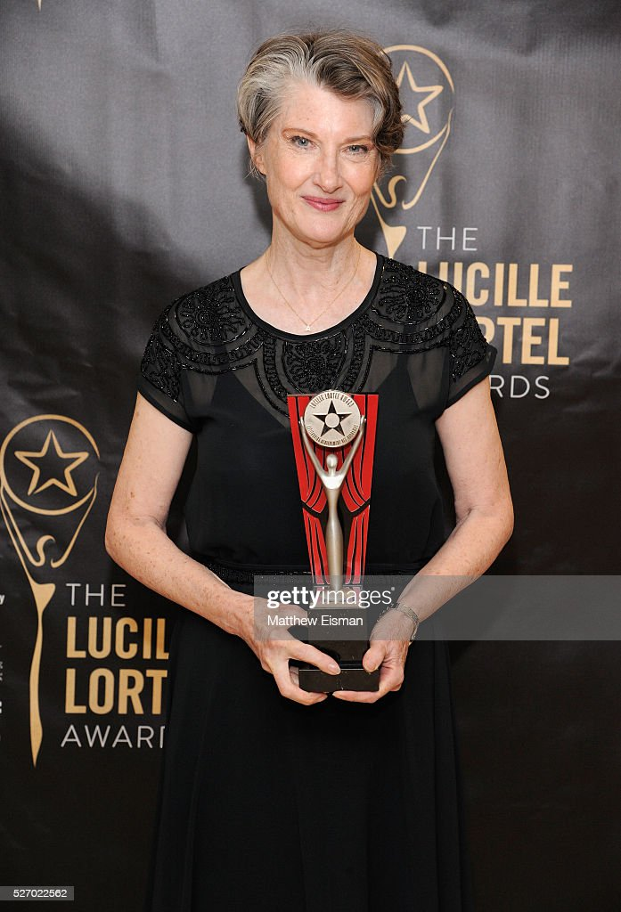 Actress <a gi-track='captionPersonalityLinkClicked' href=/galleries/search?phrase=Annette+O%27Toole&family=editorial&specificpeople=210618 ng-click='$event.stopPropagation()'>Annette O'Toole</a> attends the press room for the 31st Annual Lucille Lortel Awards at NYU Skirball Center on May 1, 2016 in New York City.