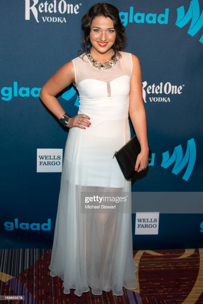 Actress Annie Clark attends the 24th annual GLAAD Media awards at The New York Marriott Marquis on March 16, 2013 in New York City.