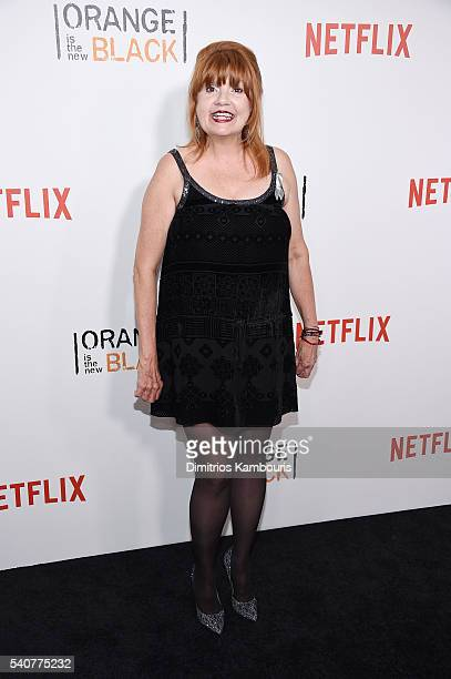 Actress Annie Golden attends 'Orange Is The New Black' premiere at SVA Theater on June 16 2016 in New York City
