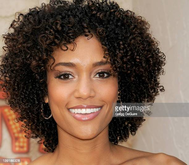 Actress Annie Ilonzeh arrives at Spike TV's Guys Choice Awards 2011 at Sony Pictures Studios on June 4 2011 in Culver City California