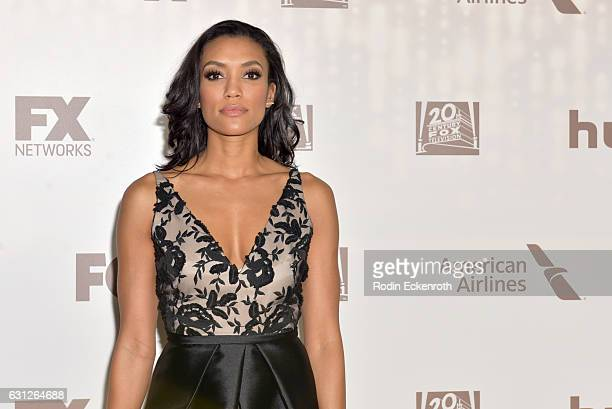 Actress Annie Ilonzeh attends FOX and FX's 2017 Golden Globe Awards after party at The Beverly Hilton Hotel on January 8 2017 in Beverly Hills...