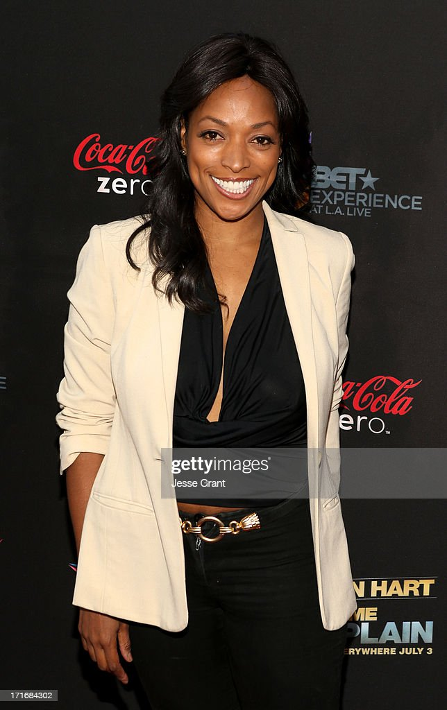 Actress Annie Ilonzeh attends Movie Premiere 'Let Me Explain' with Kevin Hart during the 2013 BET Experience at Regal Cinemas L.A. Live on June 27, 2013 in Los Angeles, California.