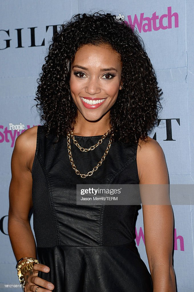 Actress Annie Ilonzeh attends People StyleWatch Denim Awards presented by GILT at Palihouse on September 19 2013 in West Hollywood California