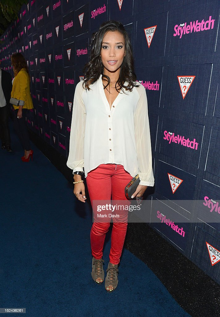 Actress Annie Ilonzeh attends People StyleWatch Hollywood Denim Party at Palihouse on September 20, 2012 in Santa Monica, California.