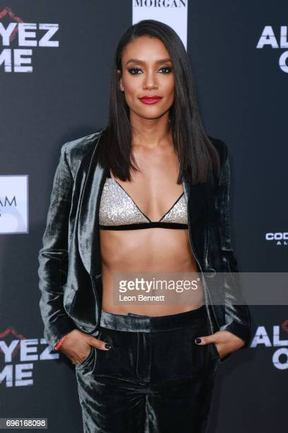 Actress Annie Ilonzeh attends Premiere Of Lionsgate's 'All Eyez On Me' at the Westwood Village Theatres on June 14 2017 in Los Angeles California