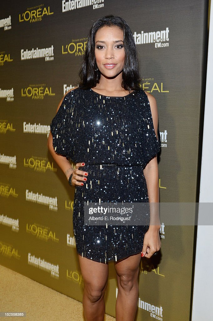 Actress Annie Ilonzeh attends The 2012 Entertainment Weekly Pre-Emmy Party Presented By L'Oreal Paris at Fig & Olive Melrose Place on September 21, 2012 in West Hollywood, California.