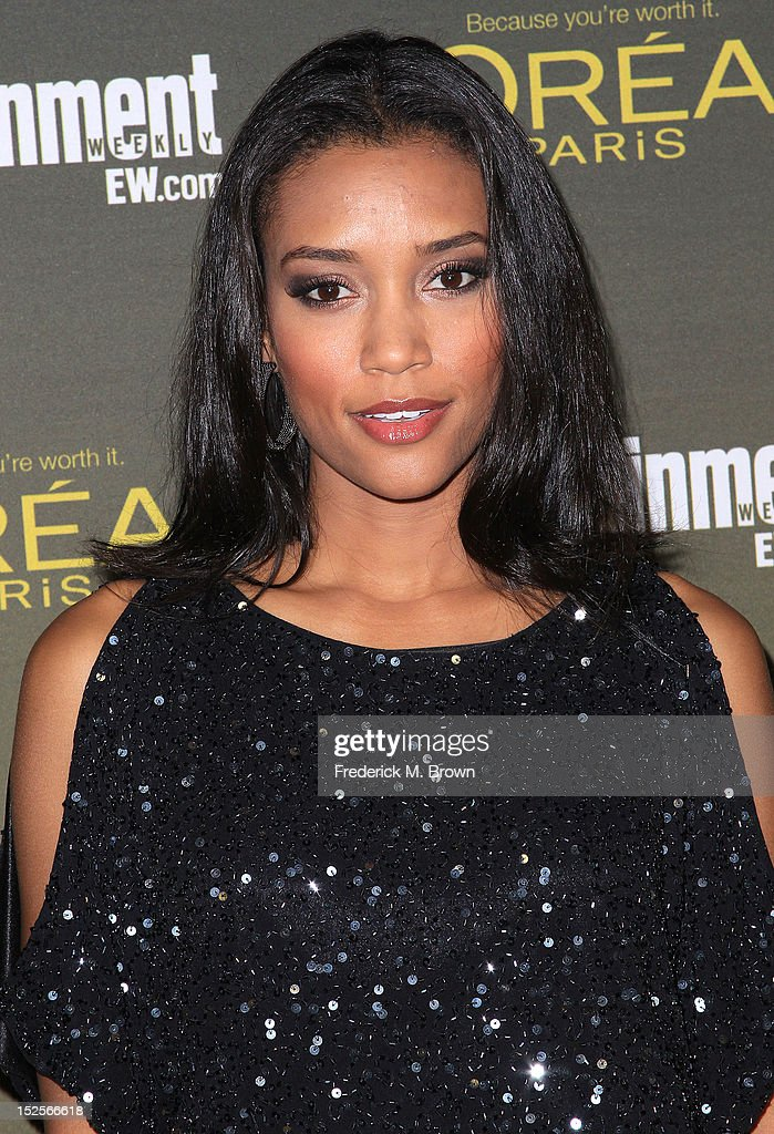 Actress Annie Ilonzeh attends the 2012 Entertainment Weekly Pre-Emmy Party at the Fig & Olive on September 21, 2012 in West Hollywood, California.