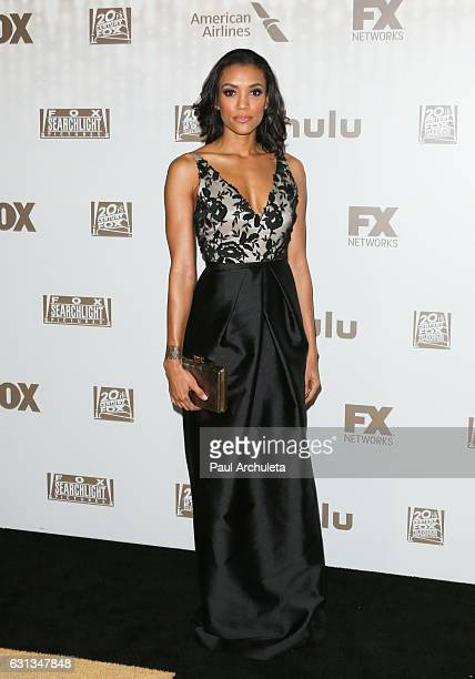 Actress Annie Ilonzeh attends the FOX and FX's 2017 Golden Globe Awards After Party at The Beverly Hilton Hotel on January 8 2017 in Beverly Hills...