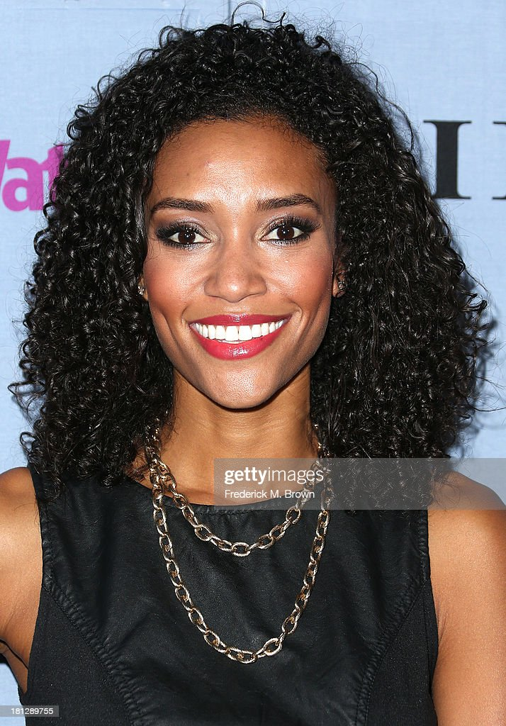 Actress Annie Ilonzeh attends the People StyleWatch Denim Awards by GILT at the Palihouse on September 19 2013 in West Hollywood California