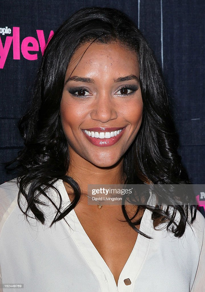 Actress Annie Ilonzeh attends the People StyleWatch Denim Party at Palihouse on September 20, 2012 in West Hollywood, California.