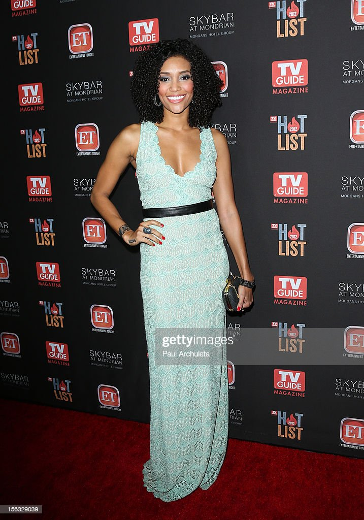 Actress Annie Ilonzeh attends the TV Guide Magazine Hot List Party at SkyBar at the Mondrian Los Angeles on November 12, 2012 in West Hollywood, California.