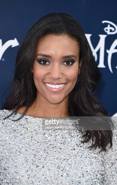Actress Annie Ilonzeh attends the World Premiere of Disney's 'Maleficent' at the El Capitan Theatre on May 28 2014 in Hollywood California