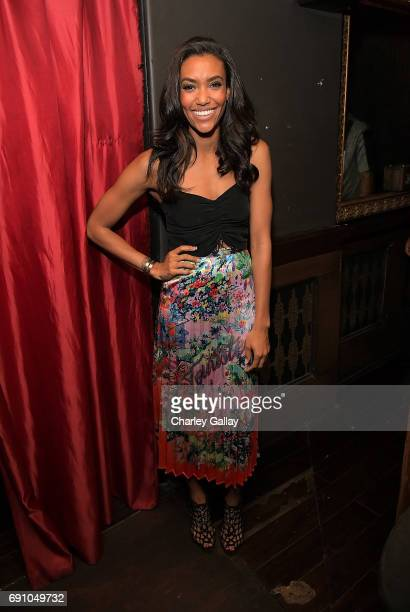 Actress Annie Izolzeh attends Flaunt And David LaChapelle Celebrate The Cadence Issue Featuring Tupac Shakur On The Cover on May 31 2017 in Los...