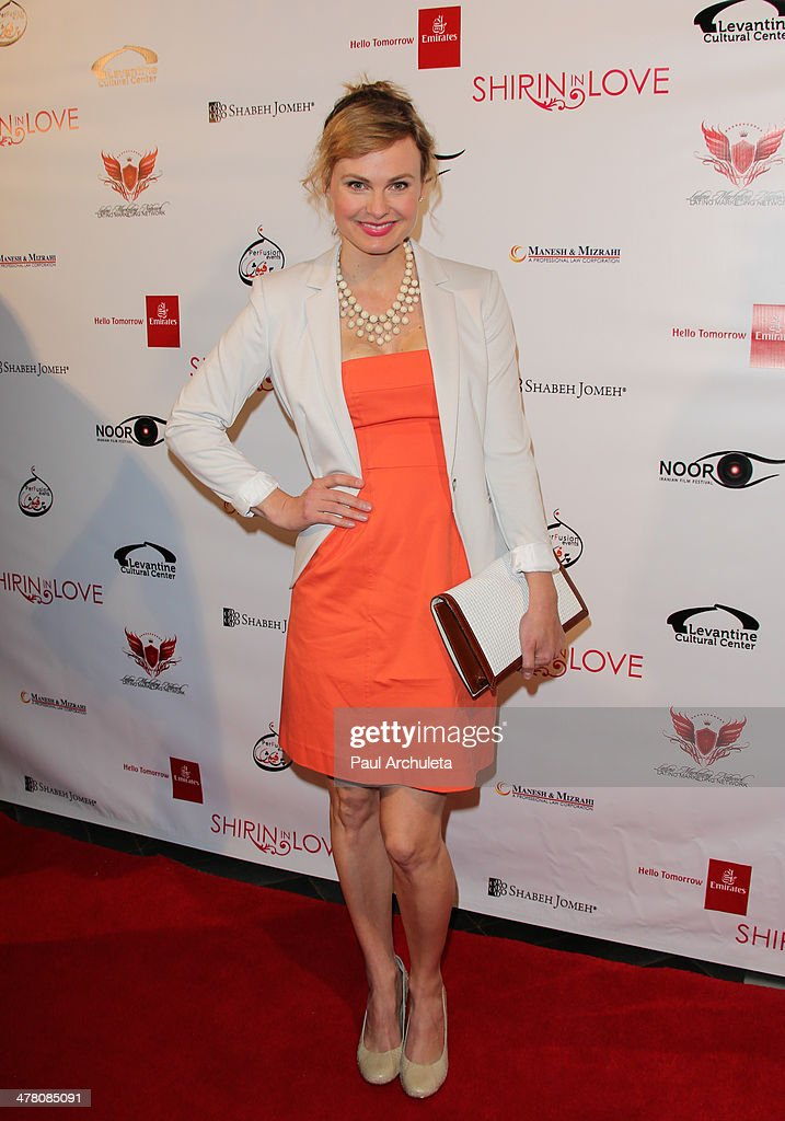 Actress Annie Little attends the premiere of 'Shirin In Love' at Avalon on March 11, 2014 in Hollywood, California.