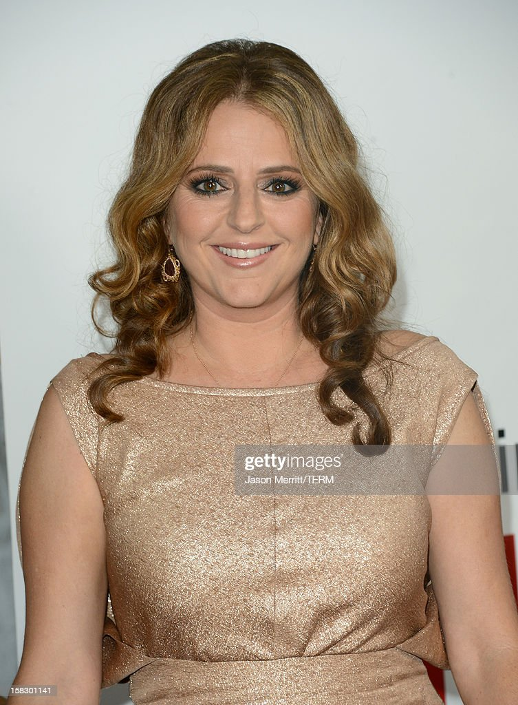 Actress Annie Mumolo attends the Premiere Of Universal Pictures' 'This Is 40' at Grauman's Chinese Theatre on December 12, 2012 in Hollywood, California.