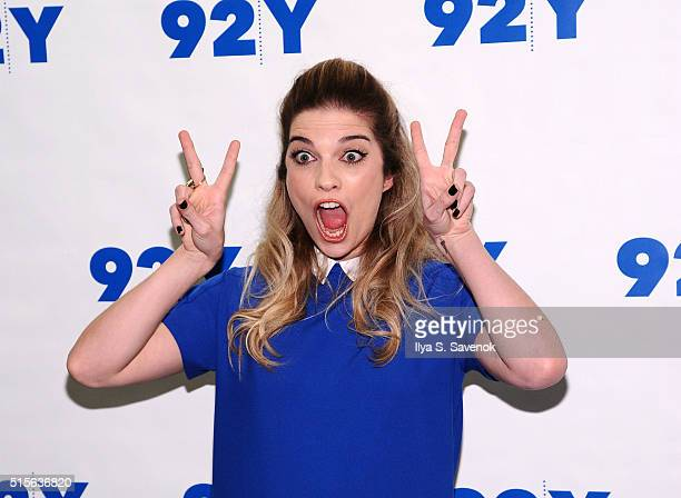 Actress Annie Murphy attends 92nd Street Y Presents 'Schitt's Creek' at 92nd Street Y on March 14 2016 in New York City