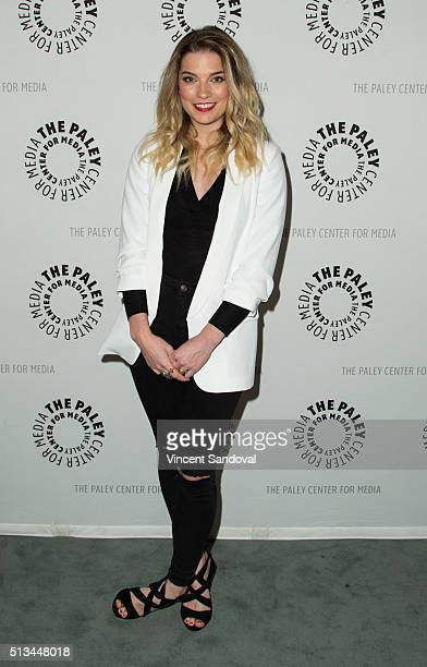 Actress Annie Murphy attends Paley Center For Media Presents PaleyLive LA An evening with 'Schitt's Creek' at The Paley Center for Media on March 2...