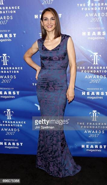 Actress Annie Parisse attends the 2017 Fragrance Foundation Awards at Alice Tully Hall Lincoln Center on June 14 2017 in New York City
