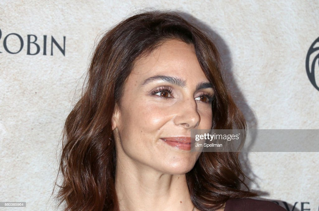 Actress Annie Parisse attends the 'Good Bye Christopher Robin' New York special screening at The New York Public Library on October 11, 2017 in New York City.