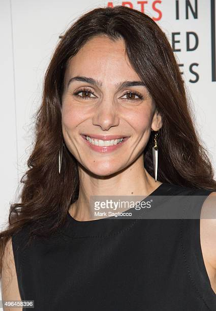 Actress Annie Parisse attends the 'Lobby Hero' Photo Call at Studio 54 on November 9 2015 in New York City