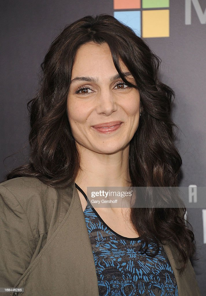 Actress Annie Parisse attends the 'Star Trek Into Darkness' screening at AMC Loews Lincoln Square on May 9, 2013 in New York City.