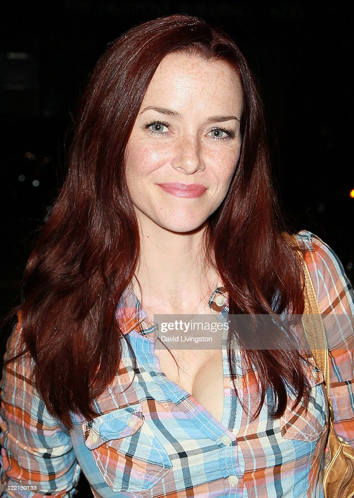Actress Annie Wersching attends the Los Angeles premiere of 'The Casserole Club' presented by the American Cinematheque at the Egyptian Theatre on August 25, 2011 in Hollywood, California.