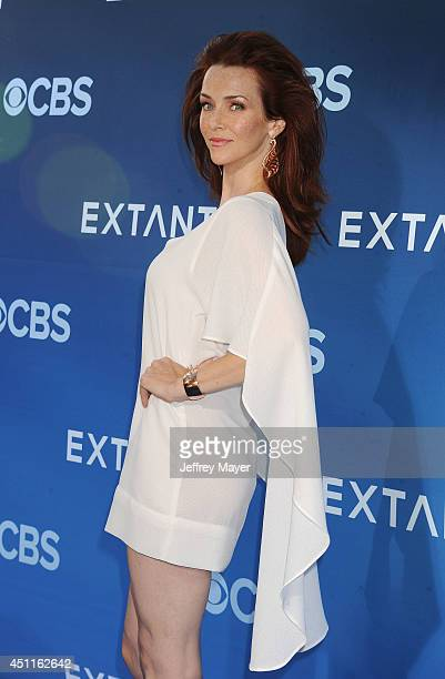 Actress Annie Wersching attends the Premiere Of CBS Films' 'Extant' at California Science Center on June 16 2014 in Los Angeles California
